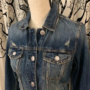 American Eagle Outfitters Jackets & Coats - NWT American Eagle Distressed Denim Jacket